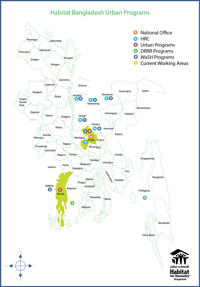 Bangladesh Map pabloamos 05022018 urban programs